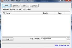 YouTube FLV to AVI Converter