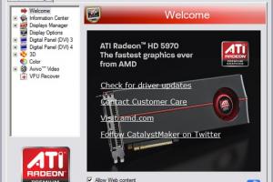 ATI Catalyst Drivers (Vista/7)