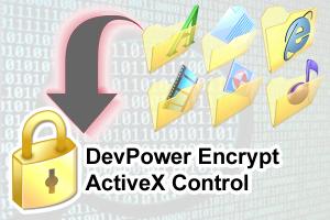 DevPower Encrypt ActiveX Control
