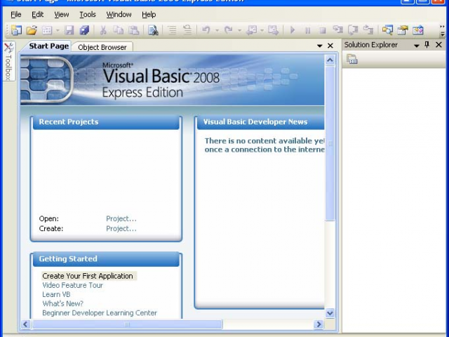 Бесплатная загрузка microsoft visual basic express 2008 express.