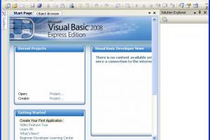 Microsoft Visual Basic 2008 Express