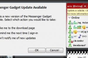 Gadget Messenger