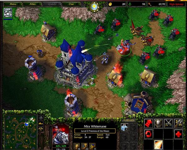 Descargar Warcraft 3 + Expansiones Full Español Pc