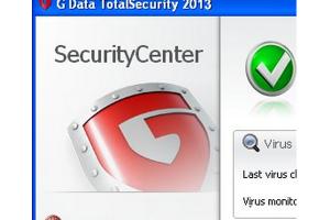 G Data TotalSecurity 2013