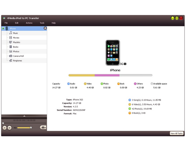 4media ipod to pc transfer key generator