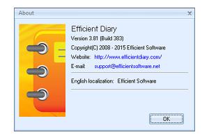 Efficient Diary