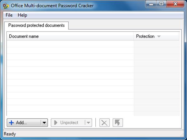 Помогающий быстро и эффективно взломать утерянные пароли к некоторым док