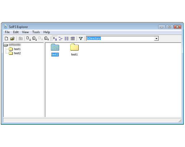 Images Solid File System