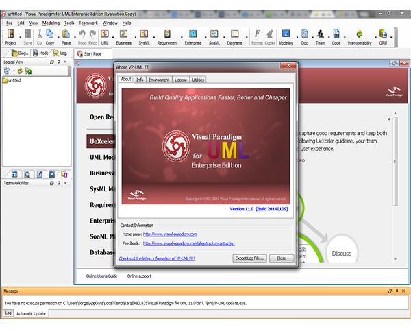 Images Visual Paradigm for UML Enterprise