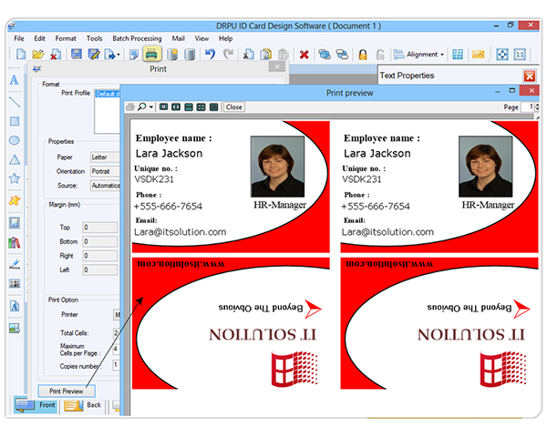 Images Drpu Id Card Design Software