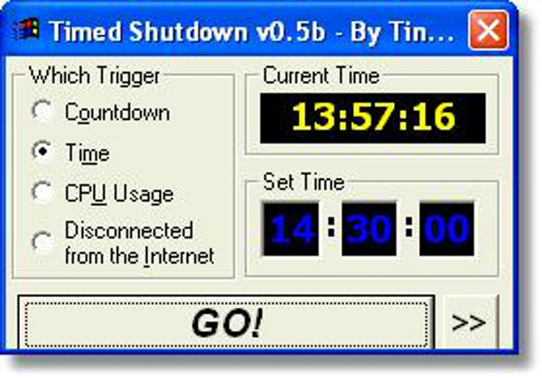 how to schedule windows computer turn off