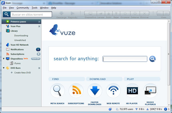 Vuze Search Templates | Vuze Download Software Strongbow Windows