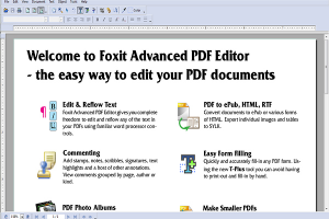 foxit save pdf as word