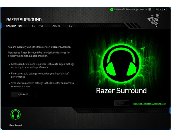 how to set up razer surround