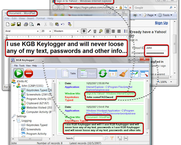 Kgb Free Keylogger - фото 7
