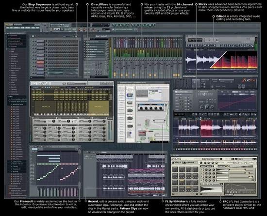 Cliquez pour agrandir. span Image Line/span FL 10 Producer Edition.