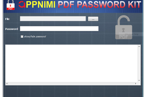 how to unprotect pdf file