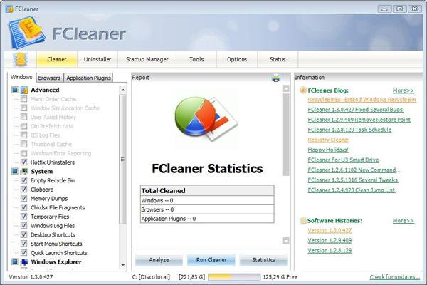 Fcleaner Free Download