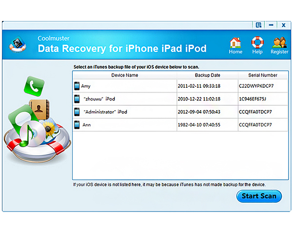 WatFile.com Download Free Download Coolmuster Data Recovery for iPhone iPad iPod