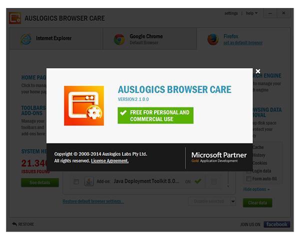 images auslogics browser care