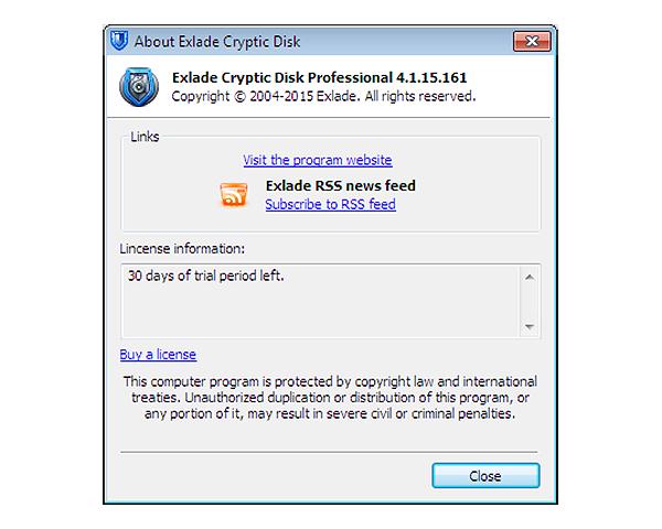 Exlade Cryptic Disk Professional - это надежная и эффективная программа, с