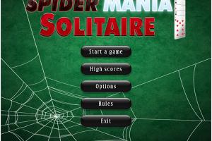 Spider Mania Solitaire