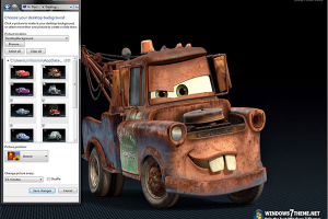 Cars 2 Windows Theme With Sound Effect