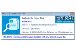 Duplicate File Finder Mini