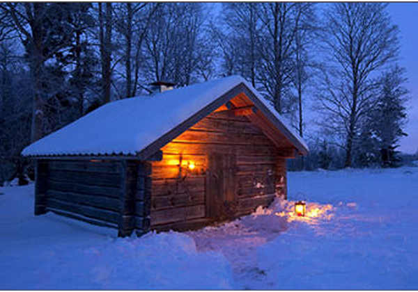 Images Snowy Night Theme