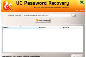 UC Password Recovery Portable
