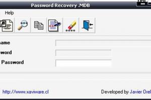 Password Recovery .MDB