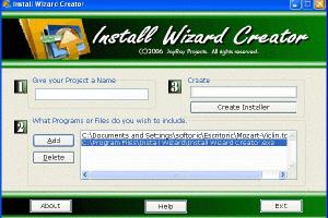 Install Wizard Creator