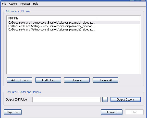 Aide pdf to dxf converter - хорошая программа для быстрого и качественного
