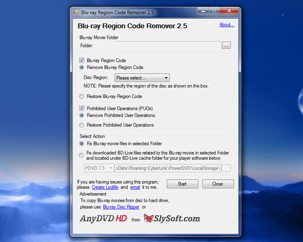 how to use blu-ray region code remover 2.5
