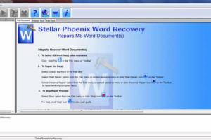 Stellar Phoenix Word Recovery
