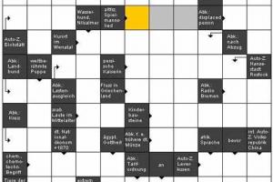 Java Applet de jeux de mots croisés Arensus