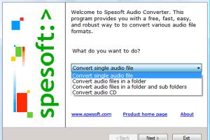 Spesoft Audio Converter