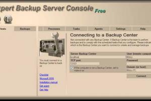 Expert Backup Server