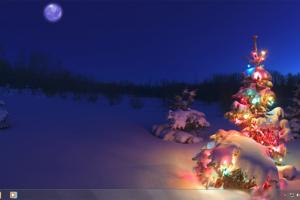 Tema Holiday Lights