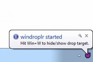 Windroplr