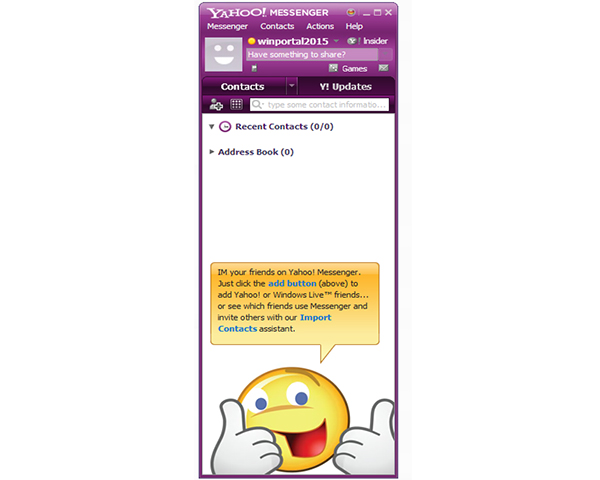 how to use chat room in yahoo messenger 11.5