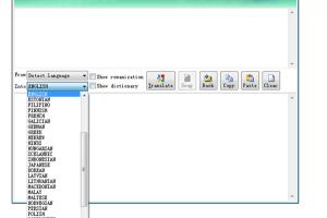 Google Translate Desktop