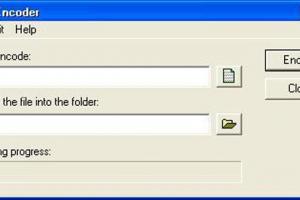 uToolbox FileEncoder