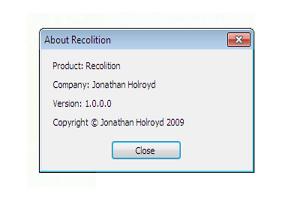 Recolition