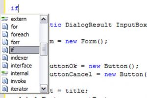 Microsoft Visual C#
