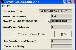 Storm Distance Calculator