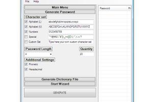 RVL Password Generator