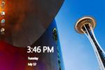 W8 Desktop Clock