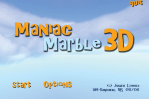 Maniac Marble 3D