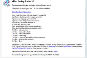 Video Backup Fusion